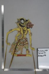 Shadow Puppet (Wayang Kulit) of Subali or Raja Subali, from the set Kyai Drajat