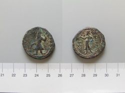 Coin of Kanishka from India