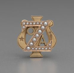 Badge of Zeta Psi Owned by Anthony N. B. Garvan