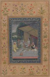 Ragini Bihag, from a Garland of Musical Modes (Ragamala) manuscript