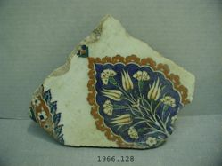 "Tile in the ""Rhodian"" style"