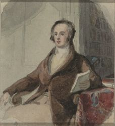 Sketch for a Portrait of a Man