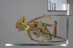 Shadow Puppet (Wayang Kulit) of Petruk Jadi, from the set Kyai Drajat