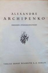 Dreizehn Steinzeichnungen (Portfolio of 13 lithographs)