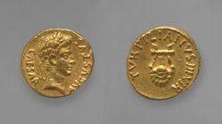 Aureus of Augustus, Emperor of Rome from Rome