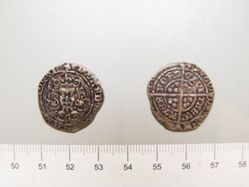 Facing bust type with English style reverse of Edward IV