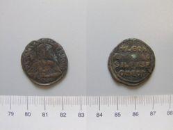 Follis (40 Nummi) of Leo VI, emperor of Byzantium 886 912 from Constantinople