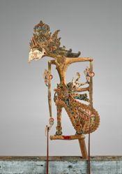 Puppet (Wayang Klitik) possibly of Rama