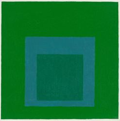 Homage to the Square: Cool Rising