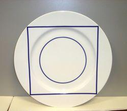 Sample Dinner Plate