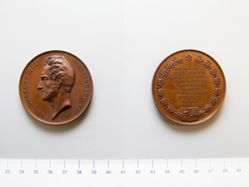 Bronze medal of Robert C. Fergusson