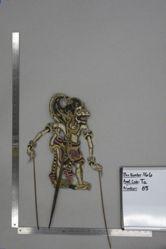 Shadow Puppet (Wayang Kulit) of Maruti