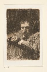 A Painter-Etcher (self-portrait)