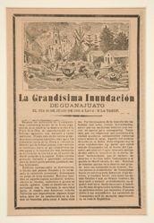La Grandísima Inundación de Guanajuato (The Great Flood of Guanajuato)