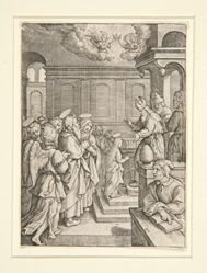 The Presentation of the Virgin, from the series The Life of the Virgin