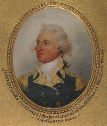 John Brooks (1752-1825), M.A. (HON.) 1781
