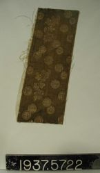 Fragment of silk compound cloth