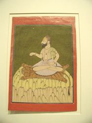 Shaiva Ascetic on Mount Kailasa (illustration from a Tantric text)