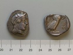 Imitation (?) tetradrachm of  Athens