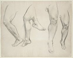 Untitled [Study of legs]