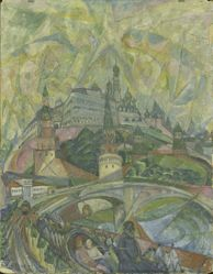 The Kremlin, Moscow, Abstraction
