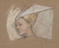 Head of Lady Anne, from Richard III