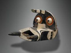 Helmet Mask Representing an Elephant
