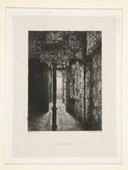 Le Vestibule, pl. 3 from the suite Chez Victor Hugo (Victor Hugo's House)