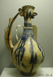 Cock-Headed Ewer of Seljuk White Ware