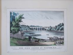 The High Bridge at Harlem, N.Y.
