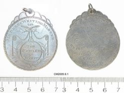 Miss Taylor's Seminary Medal