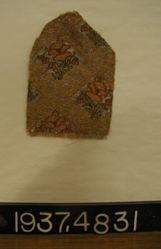 Fragment of fancy compound cloth