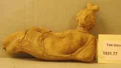 Reclining Statuette