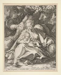 The Holy Family Under the Cherry Tree/ Rest on the Flight To Egypt Under a Cherry Tree