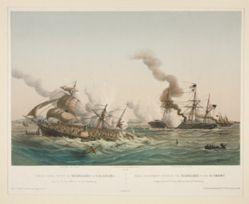 Combat Naval entre le Kearsage & l'Alabama, No. 14 (Civil War)