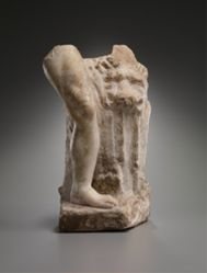 Fragment of a statue of Herakles