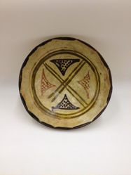 Bowl with Four Triangles