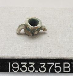 Assorted green-glazed fragments