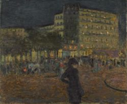 Place Pigalle at Night