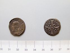 Silver groat of Charles II from Barcelona