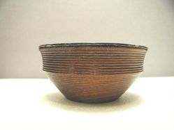 One of a pair of bowls