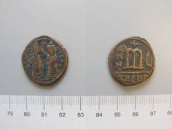 Follis (40-nummi) of Phocas from Antioch