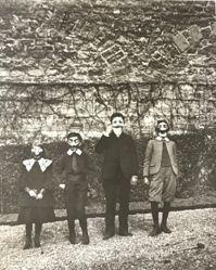 40 Rue Cortambert a Paris, Bouboutte - Louis, Robert, Zissou, from J.H. Lartigue, A Collector's Portfolio: 1903-1916