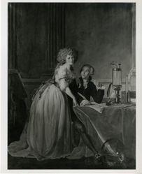 Antoine Laurent Lavoisier (1743–1794) and Mme. Lavoisier (Marie-Anne Paulze) (1758–1836), (after Jacques-Louis David)