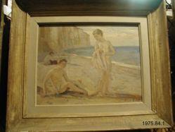Two Boys at Seashore