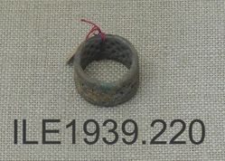 Ring, with wire work