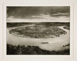 Loop of the Rhine near Boppard, from the portfolio Rhineland Landscapes by August Sander