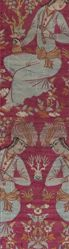 Textile Fragment Depicting a Youth Drinking