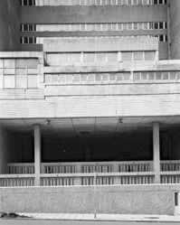 Comissioner of Bantu Affairs Building with cells, 15 Market Street, North Side, Johannesburg