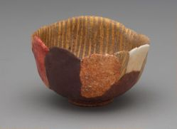 "Sake Cup named ""Autumn Flames"""